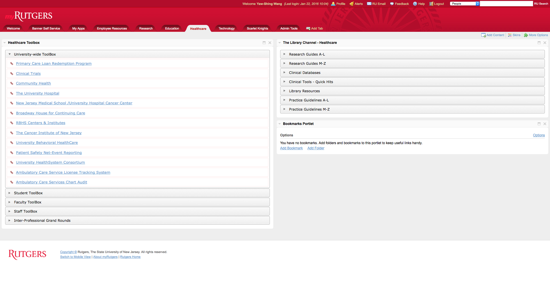 screenshot-myRutgers-healthcare