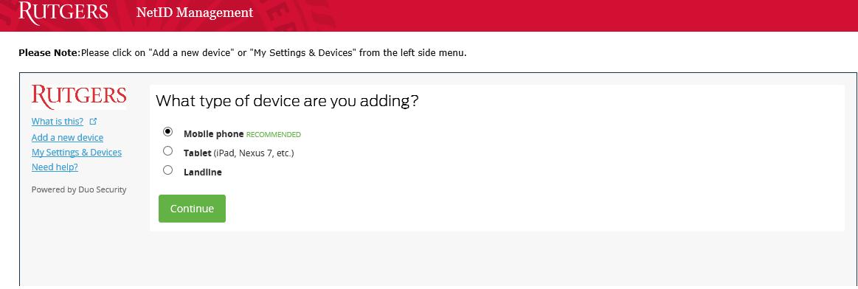 selectDevice