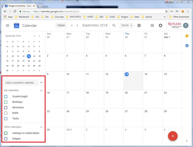 Import Course Schedule to Google Calendar | Enterprise